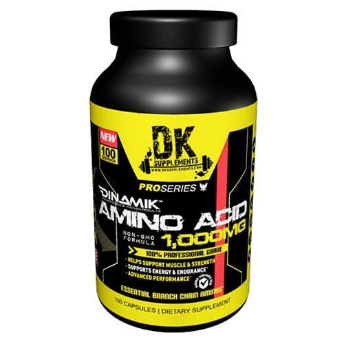 Amino Acido BCAA 100 capsulas. DK