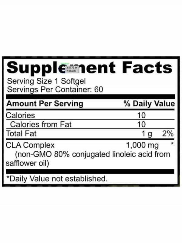 CLA - Conjugated Linoleic Acid 1000MG spec