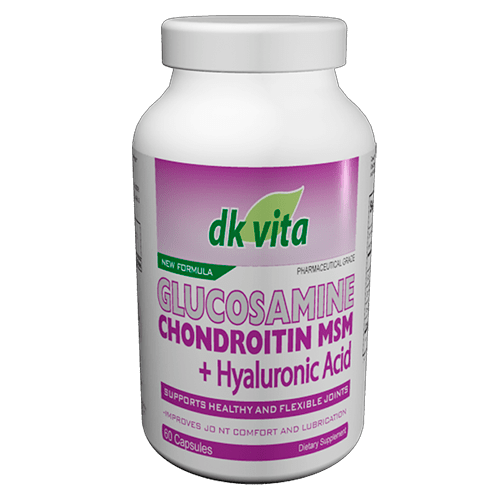 Glucosamina+Chondroitin+MSM 60 capsulas. DK