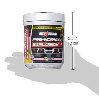 Pre Workout Explosion 210g. Six Star
