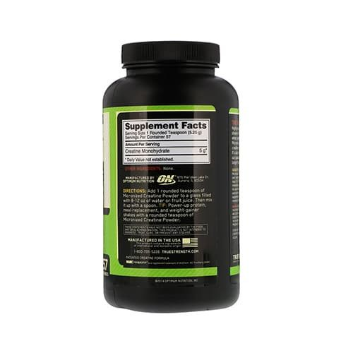 Cratina monohidratada 300G. ONCratina monohidratada 300G. ON back